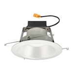 "Juno Recessed Lighting J6RLWDG4N-3K-6-WHW 6"" IC WarmDim LED Retrofit Downlight Trim Module 600 Lumens, 3000K Color Temperature, White Cone, White Trim, Less Medium Base Socket Adapter"