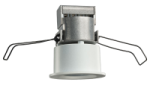 "Juno Recessed Lighting MD1L27K-NFL-WH 2-1/4"" Mini LED Downlight 2700K Narrow Flood Beam Spread, White Finish"