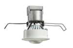 "Juno Recessed Lighting MG1L27K-SP-WH (MG1LG2-27K-SP-WH) 2-5/8"" LED Mini LED Gimbal 2700K Spot Beam Spread, White Finish"