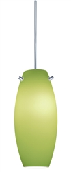Juno Lighting PKH322PISTACHIO (PKH P322 PIST) Decorative Pendant Kit Ellipse Glass Shade, Pistachio Color
