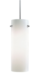 Juno Lighting PKH324OPAL (PKH P324 OPL) Decorative Pendant Kit Cylinder Glass Shade, Opal Color
