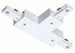 Juno Track Lighting R25WH (R25 WH) Trac Lites T Connector, White Color