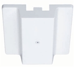 Juno Track Lighting R29WH (R29 WH) Trac Lites Floating Electrical Feed, White Color