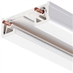 Juno Track Lighting R2WH (R 2FT WH) 2 ft Track - Trac Lites Line Voltage Track System, White Color