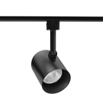 Juno Track Lighting R500BL (R500 BL) Trac Lites Round Back Cylinder Line Voltage 50W PAR20/R20 Black Color