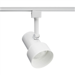Juno Track Lighting R510WH (R510 WH) Trac Lites Step Cylinder Line Voltage 50W PAR20/R20 White Color