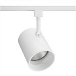 Juno Track Lighting R522W-WH (R522 WHB WH) Trac Lites Flat Back Line Voltage 65W BR30/75W PAR30 White Baffle White Color