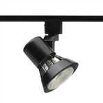 Juno Track Lighting R531BL (R531 BL) Trac Lites Flared Gimbal Line Voltage 50W PAR20 Black Color