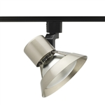 Juno Track Lighting R532SC (R532 SC) Trac Lites Flared Gimbal Line Voltage 75W PAR30 Satin Chrome Color