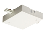 Juno Track Lighting RCLF21WH (RCLF21 WH) Trac Lites Current Limiting Feed, 1 Circuit, In-Line Feed White Color