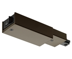 Juno Track Lighting RCLFM11BZ (RCLFM11 BZ) Trac Lites Current Limiting Feed, 1 Circuit, Mini End Feed, Bronze Color