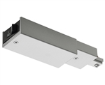 Juno Track Lighting RCLFM11SL (RCLFM11 SL) Trac Lites Current Limiting Feed, 1 Circuit, Mini End Feed, Silver Color