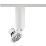 Juno Track Lighting T1016V-WH (T1016 V WH) Trac Master Low Voltage Vertical Gimbal16 MR16 LED-Compatible Lampholders, White Finish