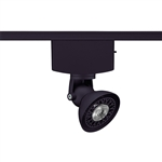 Juno Track Lighting T1040H-BL (T1040 H BL) Trac Master Low Voltage Horizontal Lily16 MR16 LED-Compatible Lampholders, Black Finish