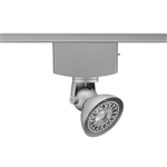 Juno Track Lighting T1040H-SL (T1040 H SL) Trac Master Low Voltage Horizontal Lily16 MR16 LED-Compatible Lampholders, Silver Finish
