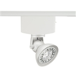 Juno Track Lighting T1040H-WH (T1040 H WH) Trac Master Low Voltage Horizontal Lily16 MR16 LED-Compatible Lampholders, White Finish