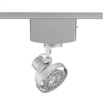 Juno Track Lighting T1042H-SL (T1042 H SL) Trac Master Low Voltage Horizontal Concentricity16 MR16 LED-Compatible Lampholders, Silver Finish