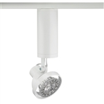 Juno Track Lighting T1042V-WH (T1042 V WH) Trac Master Low Voltage Vertical Concentricity16 MR16 LED-Compatible Lampholders, White Finish