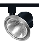 Juno Track Lighting T231SC (T231 SC) Close-Up with Metal Shade - Line Voltage 75W PAR30, Satin Chrome Color