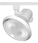 Juno Track Lighting T239WH (T239 WH) Close-Up with Metal Shade - Line Voltage 120W PAR38, White Color