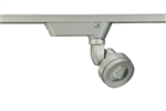 Juno Track Lighting T251LED-4K-SP-SL Cylindra 15W LED 4000K, Spot Beam Spread, Silver Finish