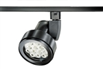 Juno Track Lighting T253LED-27K-NFL-BL Cylindra 22W LED 2700K, Narrow Flood Beam Spread, Black Finish