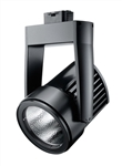 Juno Track Lighting T255LED-35K-FL-BL Cylindra 45W LED 3500K Color Temperature, Flood Beam Spread, Black Finish
