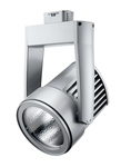 Juno Track Lighting T255LED-3K-SP-SL Cylindra 45W LED 3000K Color Temperature, Flood Beam Spread, Silver Finish