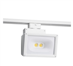 Juno Track Lighting T259L-35K-WH Wall Wash Flood 57W LED 4691 Lumens, 3500K Color Temperature, 80 CRI, White Finish