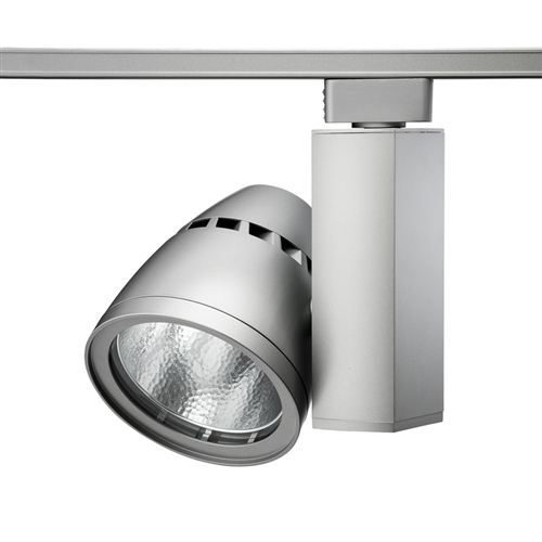 Juno Track Lighting T267l 27k F Sl Conix Ii 64w Non Dimmable 80 Cri Led Fixture 2700k Flood Silver Finish