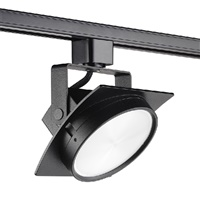 Juno T271L G2 30K SPW PDIM FL BL Track Lighting Arc 9W Dimmable LED Track Fixture, 2700K, Spectral White, Flood, Black Finish