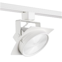 Juno T271L G2 30K SPW PDIM FL WH Track Lighting Arc 9W Dimmable LED Track Fixture, 2700K, Spectral White, Flood, White Finish
