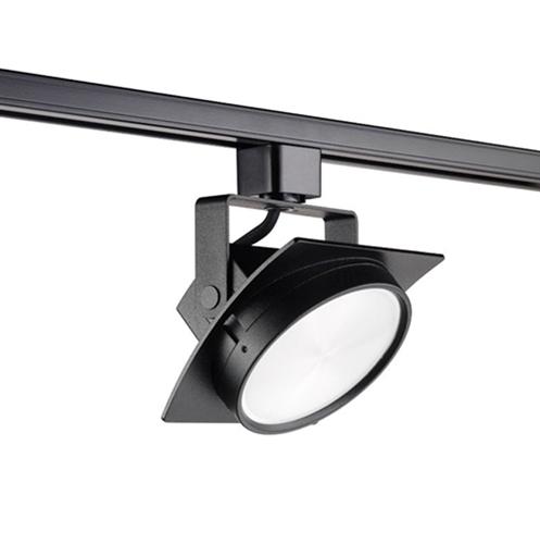 newest 76b9f e853a Juno Track Lighting T271L27KFBL Arc 13W Dimmable LED Track Fixture 2700K,  Flood, Black Finish