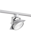 Juno Track Lighting T271L27KFSL Arc 13W Dimmable LED Track Fixture 2700K, Flood, Silver Finish