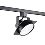 Juno Track Lighting T271L27KSBL Arc 13W Dimmable LED Track Fixture 2700K, Spot, Black Finish