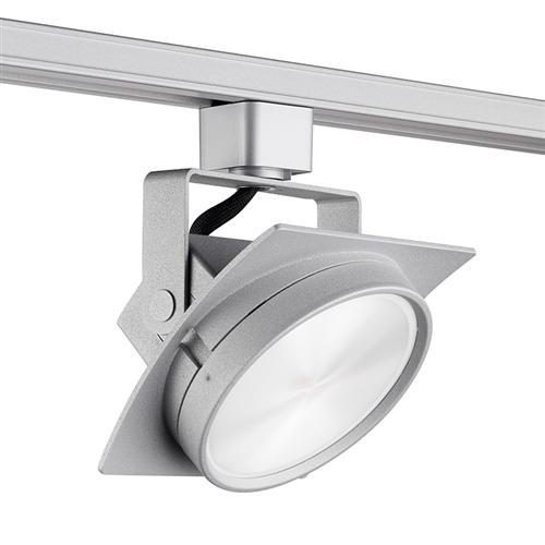 quality design 15d95 314da Juno Track Lighting T272L3HCFSL Avant Garde Arc L 15W Dimmable LED Track  Fixture, 92 CRI, 3000K, Flood, Silver Finish