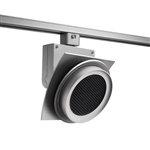 Juno Track Lighting T275L27HCNHCLSL Trac Master Arc XL 26W LED, 2700K Color Temperature, 90 CRI, Narrow Flood, Hexcell Louver, Silver Finish