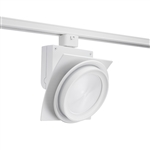 Juno Track Lighting T275L27KFWH Trac Master Arc XL 26W LED, 2700K Color Temperature, 80 CRI, Flood, No Louver, White Finish