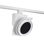 Juno Track Lighting T275L35HCNHCLWH Trac Master Arc XL 26W LED, 3500K Color Temperature, 90 CRI, Narrow Flood, Hexcell Louver, White Finish