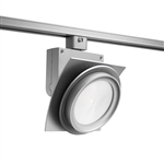 Juno Track Lighting T275L35KFSL Trac Master Arc XL 26W LED, 3500K Color Temperature, 80 CRI, Flood, No Louver, Silver Finish