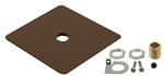 Juno Track Lighting T27BZ (T27 BZ) Outlet Box Cover, Bronze Color