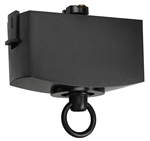Juno T31N BL Track Lighting Trac-Master Pendant Adapter, Black