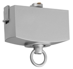Juno T31N SL Track Lighting Trac-Master Pendant Adapter, Silver