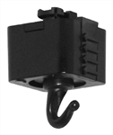 Juno Track Lighting T32BL (T32 BL) Trac Master Planter or Utility Hook Black Color