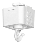 Juno Track Lighting T32WH (T32 WH) Trac Master Planter or Utility Hook White Color