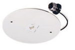 "Juno Track Lighting T539WH (T539 WH) Monopoint Cover for 6"" Recessed Lighting Housing - Low Voltage, White Color"