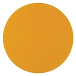 "Juno Track Lighting T585 (CGF 550 MAMB) Color Filter - Medium Amber, 5-1/2"" Diameter"