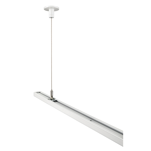 Juno Track Lighting T597 48 Wh 48in Rigid Ceiling Cable Suspension Kit For