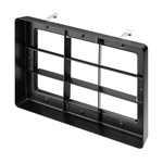 Juno Recessed Lighting TA-WWLOUVER-BL (CBLBL RECT2) Cross Blade Louver Black Finish