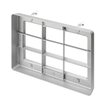 Juno Recessed Lighting TA-WWLOUVER-SL (CBLSL RECT2) Cross Blade Louver Silver Finish